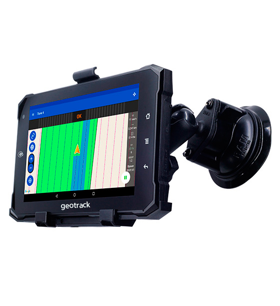 Reliable agricultural guidance system geotrack explorer new, parallel guidance system, area measurement, farm management system, agroprofile