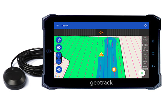 geotrack explorer new, parallel driving system, navigation guide system, gps area calculation